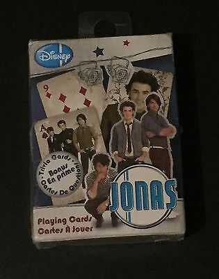 The Jonas Brothers Playing Cards - Sealed Set