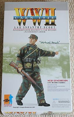 dragon action figure 1/6 ww11 german gerhard hrach 12'' boxed did cyber hot toy