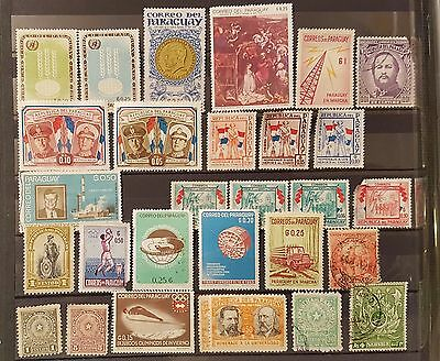 PARAGUAY Mixed Selected Stamps (No697)