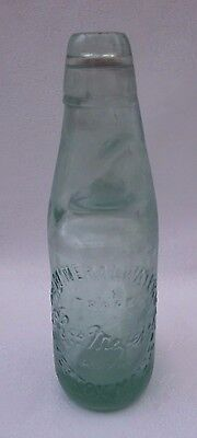 Mineral Water SHEPTON MALLET GLASS MARBLE BOTTLE