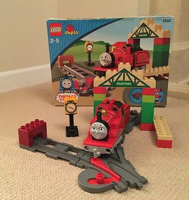 Thomas And Friends Duplo 5552 (James And Knapford Station Boxed)