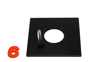 Beseler Lensboard For 23C, 45M And Cb7 Enlargers 4X4 W/ Pilot