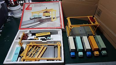 "Lima  ""ho"" Model Freight Liner Container Depot / Termial  Set"