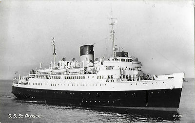RP Card F.R.H.B. SHIP S.S. ST. PATRICK (later THERMOPYLAE) – Unposted