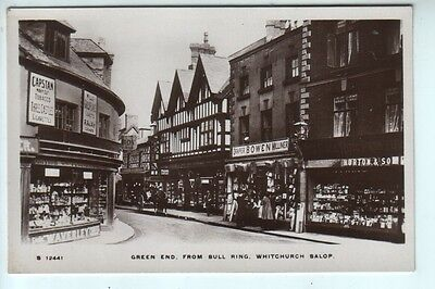 Shropshire - Green End from Bull Ring, Whitchurch