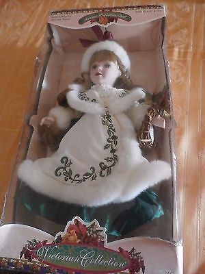 VERY RARE Victorian Collection Genuine Porcelain Doll- Melissa Jane Collectible