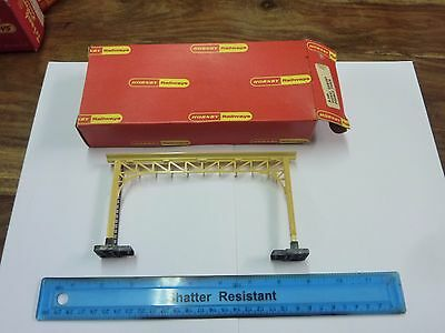 Hornby R140 Signal Gantry Double Track - Boxed & Good Condition-See Pics
