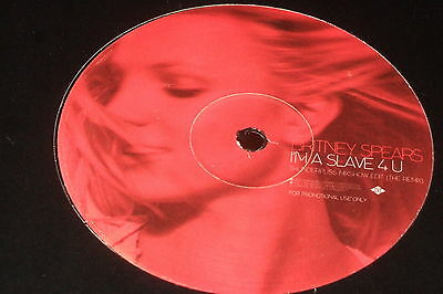 Britney Spears – Overprotected / I'm A Slave 4 U   2002  REMIXES...NEAR MINT!!