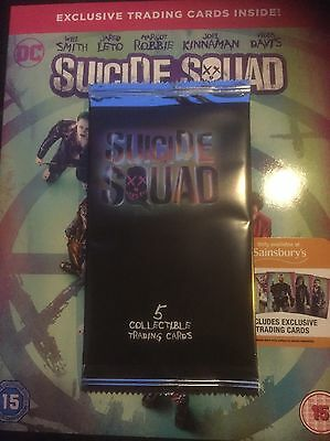 suicide squad Trading Cards Only New Sealed