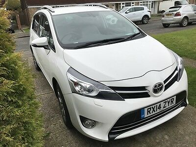Toyota Verso 2014 1.8 VVTi Icon 5 dr, 7 Seater Automatic Hatchback