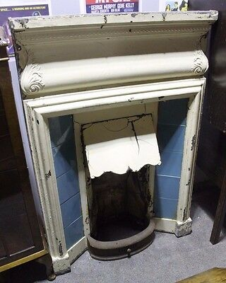 Victorian Cast Iron Fireplace with Detailing & Tiles