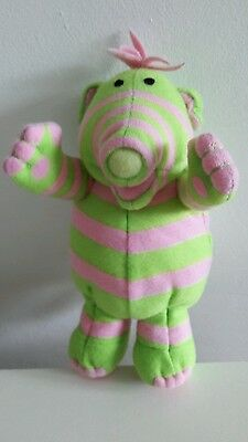 """2002 Fisher Price Fimbles Baby Pom  7"""" Soft Toy - excellent stocking filler! ��"""
