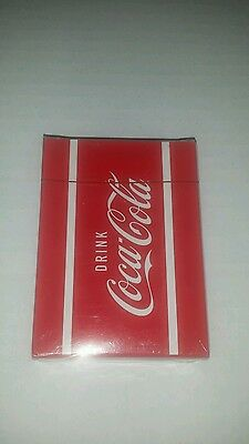 2011 Drink Coca Cola Playing Cards New And Sealed