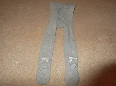 Little White Company Grey Tights x 1 Pair Age 5-6