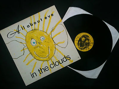 """All About Eve - In The Clouds 12"""" UK 1986 EX/EX   Goth"""
