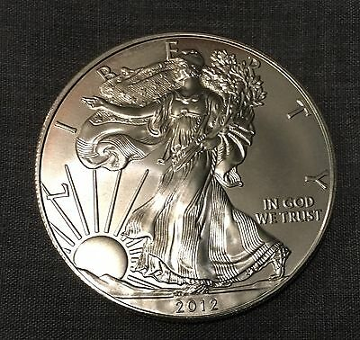 2012 Uncirculated American Silver Eagle Coin! Great Gift!`