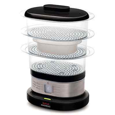 Tefal Mini Compact Steamer 7 Litre Food Tier Cooker Electric Cook