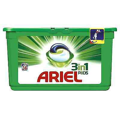 Ariel 3 in 1 Pods Regular Washing Tablets, 114 Washesֲ - Pack of 3
