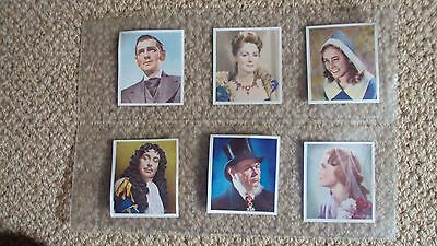 6 Characters Come To Life  Godfrey Phillips Ltd Cigarette Cards Issued 1938