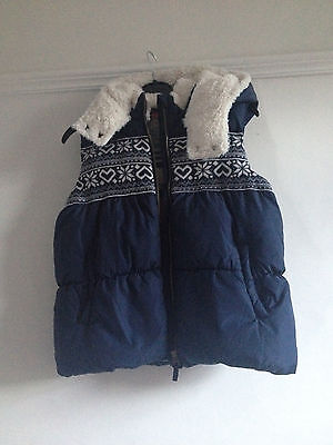 Next Girls Padded Gilet