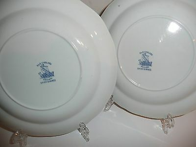 Rd No: 647815 Old Chelsea England Furnivale Ltd Salad Plate (2 of)