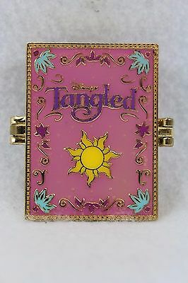 Disney WDW Parks Timeless Tales Hinged Book Tangled Tapunzel Pin LE