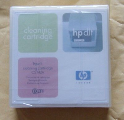 HP DLT IV Tape Cleaning Cartridge - C5142A - NEW - Original Retail Sealed