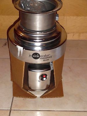 InSinkErator - SS-200-27 - 2 HP Commercial Garbage Disposal Disposer