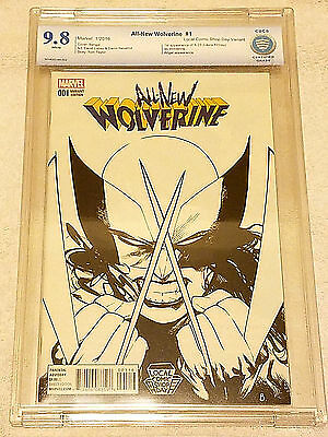 All New Wolverine #1 LCSD Sketch Variant CBCS 9.8 (same as CGC) NM/MT X-23