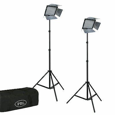 YN300III Portable LED Lighting Kit For Video w/Batteries And AC Adapter
