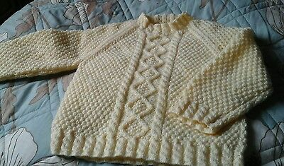 Hand Knitted  Jumpers  Will Fit 3 To 4 Year Old