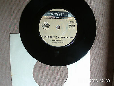 The Electric Prunes Get Me To The World On Time RARE 7 inch Reprise RS20564 UK