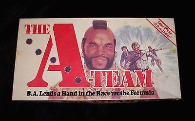 Vintage 1984 The A-Team Board Game Mr.T Parker Brothers