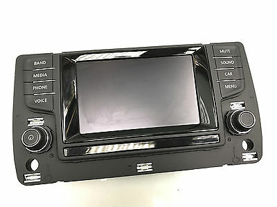 Vw Golf 7 Vii Bedienteil Radio Navi Infotainment 5G0919605H