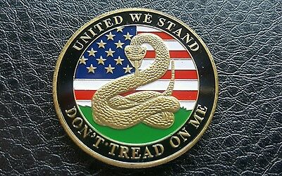 Commemorative Remembrance Challenge Usa Coin United We Stand