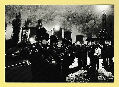 Political Modern Postcard Leeds Support the Miners No 4
