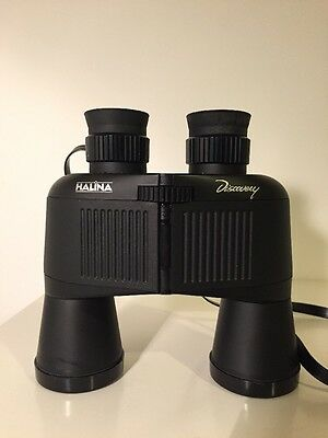 Halina Discovery Binoculars 10x40 With Carrying Case