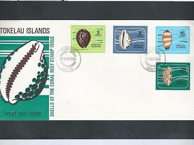 Tokeleau Islands 1973 Coral Fdc