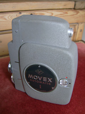 Agfa Movex Automatic 1 Cine Camera. Lovely unmarked condition.1958