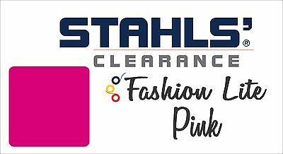 "12"" x 10 Yards - Stahls' Fashion-LITE Heat Transfer Vinyl - Pink"