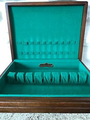 Vintage Harmony House Wooden Silverware Chest