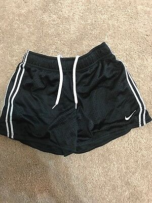 Nike Dri-Fit Child Size Small Black Athletic Shorts