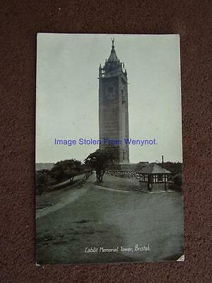 1900s Photo Postcard The Cabot Memorial Tower,Bristol.