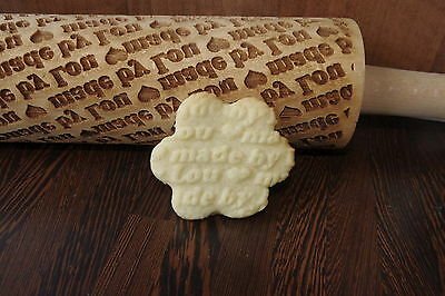 personalised engraved  rolling pin