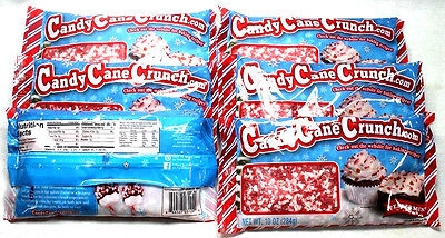 6 Candy Cane Crunch Peppermint Naturally Artificially Flavored 10 OZ