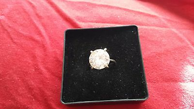 ladies sterling silver ring size O1/2