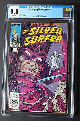 SILVER SURFER Limited Series PARABLE #1 Galactus 1988 Stan Lee MOEBIUS CGC 9.8