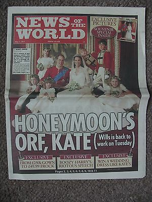 Prince William & Kate Middleton Wedding  May 1St 2011 News Of The World