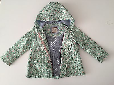 Next Raincoat Jacket In Mint Age 4-5 Years