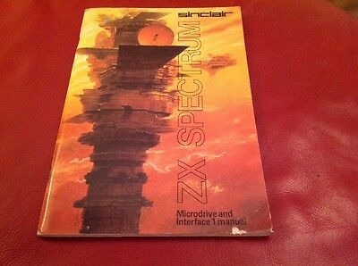 Sinclair ZX Spectrum Microdrive And Interface 1 Manual